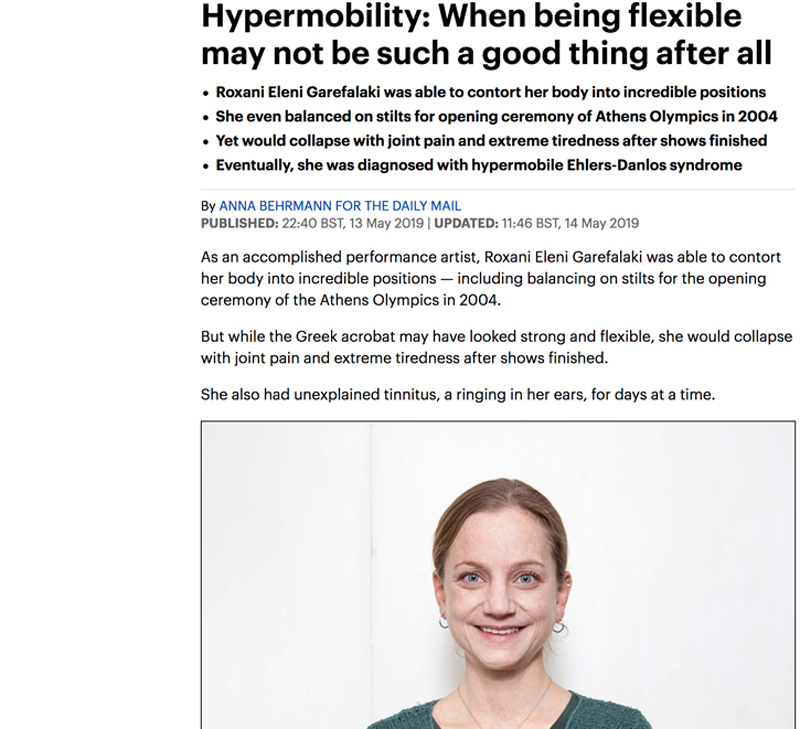 How the Alexander Technique can help people with hypermobility – II